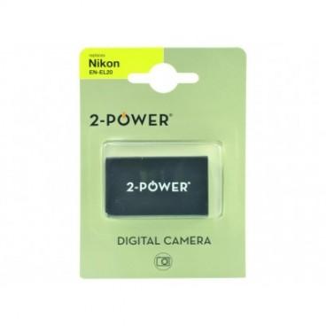 Batterie appareil photo pour Nikon EN-EL20